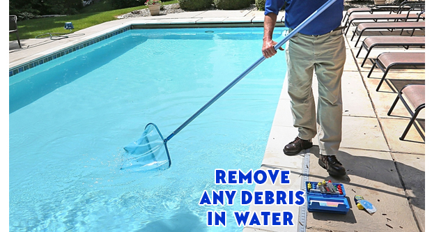 Remove Any Debris in Water