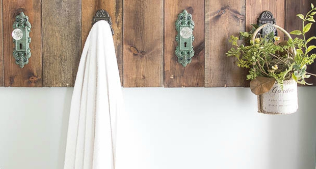 Do You Need More Towel Racks Use Your Old Door Knobs