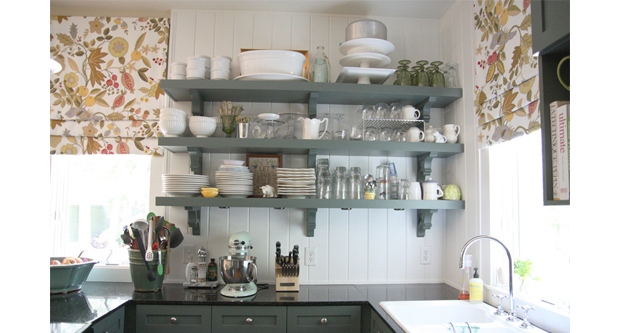 Overloading Kitchen Cabinets Located at the Top