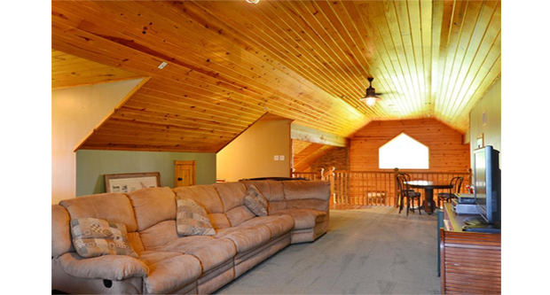 Storing Household Items on Attic Trusses and Garage